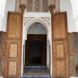 Постер, плакат: Arched entrance to the Bahia palace in Marrakech