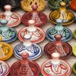 Moroccan Tajines in Marrakech — Stock Photo