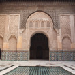 Royalty-Free Stock Photo: Morocco Marrakesh Ali Ben Youssef Medersa Islamic