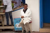 Local man in Essaouira, Morocco — Stock Photo