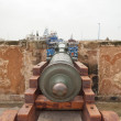 Cannon in the fortress in Essaouira - Stock Photo