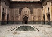 Morocco Marrakesh Ali Ben Youssef Medersa Islamic — Stock Photo
