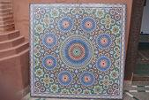 Мозаика в музей Марракеш — Стоковое фото
