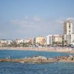 Lloret de mar beach in costa brava — Stock Photo #28698151