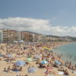 Lloret de Mar beach, spain — Stock Photo #28954315