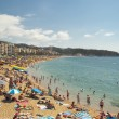 Lloret de Mar beach, Spain — Stock Photo