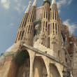 Stock Photo: SagradFamiliin barcelona, spain