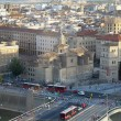 Aerial view of Zaragoza, Spain — Stock Photo