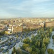Stock Photo: Aerial view of Zaragoza,Spain