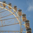 View of the big wheel in zaragoza, spain — Stock Photo