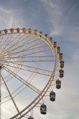 View of the big wheel in zaragoza, spain — Stock Photo