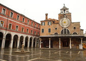 Church of San Giacomo in Venezia, Italy — Stock Photo