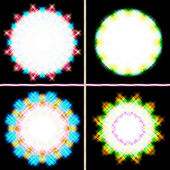 Background of coaster form light — Stock Photo