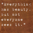 Inspirational quote by Seneca on earthy background — Stock fotografie