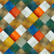 Stock Photo: Earthy geometric background