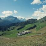 paysage alpin majestueux — Photo