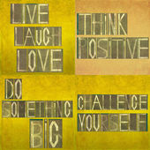 Positive messages — Foto de Stock