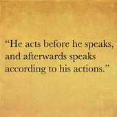 Inspirational quote by Confucius — Stock Photo