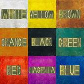 颜色光谱背景 — 图库照片