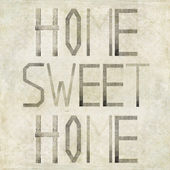 "Design element depicting the words ""Home sweet home"" — Stock Photo"