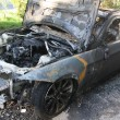 Stock Photo: Burned car