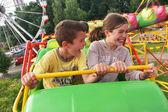 Children's amusement park — Stock Photo