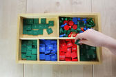 Montessori kindergarten — Stock Photo