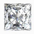 Diamond jewel on white background. — Stock Photo