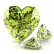 Stock Photo: Diamond green