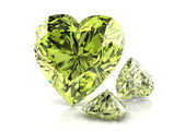 Diamond green — Stock Photo