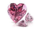 Pink diamond — Stock Photo