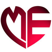 Liefde tekst — Stockfoto