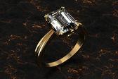 The beauty wedding ring — Stock Photo