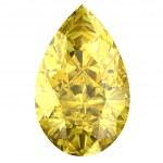 Yellow sapphire — Stock Photo