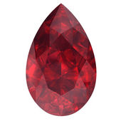 Ruby ,Citrine — Stock Photo