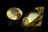 Yellow sapphire — Stockfoto