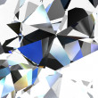 Abstract background with a crystal. - Foto de Stock