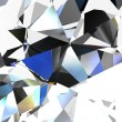 Abstract background with a crystal. - Stockfoto