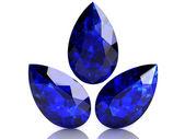 Blue sapphire — Stock Photo