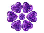 Amethyst (high resolution 3D image) — Stock Photo