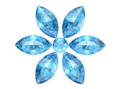 Aquamarine (high resolution 3D image) — Stock Photo