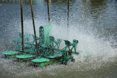 Electric paddle wheel — Stock Photo