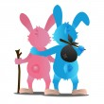Cartoon rabbit — Stock Photo #28668187