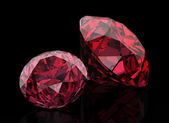 Red diamond — Stock Photo