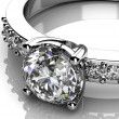 Diamonds ring — Stock Photo #31509415