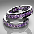 Stock Photo: Amethyst ring