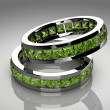 Peridot ring — Stock Photo