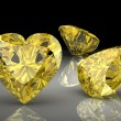 Yellow sapphire (high resolution 3D image) — Stock Photo #32238387