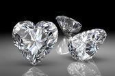 Luxusní diamanty — Stock fotografie
