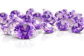 Amethyst (high resolution 3D image) — 图库照片